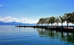Port CGN Ouchy (Diegojack) Tags: vaud suisse lausanne ouchy d500 paysages léman môle sculpture reflets groupenuagesetciel