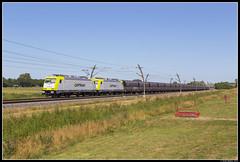 Captrain 186 155 + 186 154, Haaften (J. Bakker) Tags: captrain ct br186 186 155 154 49526 haaften nederland