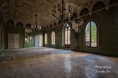 Abandoned Castle (Photography by Linda Lu) Tags: rapunzel schloss castle abandoned abandonedcastle lostplace lostplacesgermany lostplaces urbanexploring urbex urban decayindetail decay discarded forgotten
