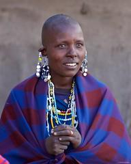 Maasai Young Woman Portrait (Claudio e Lucia Images around the world) Tags: ngorongoro tanzania africa masai maasai woman portrait village asilia higlands crater safari pentax pentaxk3ii pentax60250 ritratto young