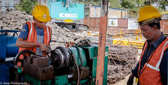Workshop (Balaji Photography - 5 ,400,000+ views -) Tags: chennai metro civilconstruction projectsite infrastructure lathe machine machinist mechanical engineering technical canon canon70d