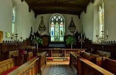 Guilsborough Church, Northants - Altar & East Window (Baz Richardson (now away until 26 Oct)) Tags: northamptonshire churchofstetheldredaguilsborough guilsborough gradeiilistedchurches stainedglasswindows edwardburnejones williammorris altar eastwindow