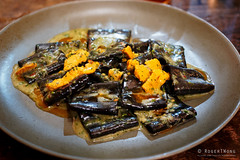 20180905-14-Squid ink paccheri, sea urchin and prawn oil at Fico in Hobart (Roger T Wong) Tags: 2018 australia fico hobart iv metabones rogertwong sigma50macro sigma50mmf28exdgmacro smartadapter sonya7iii sonyalpha7iii sonyilce7m3 tasmania food paccheri prawnoil restaurant seaurchin squidink