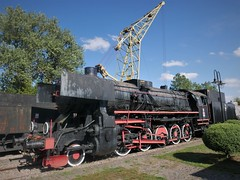 Ty2-1401 (roomman) Tags: steam engine dampflok black colour old history historic class baureihe ty2 ty 2 ty21401 crane