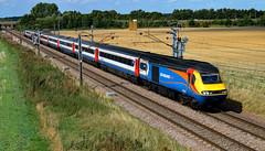 EMT 43061 and 43075 (dgh2222) Tags: class 43 43061 43075 hst 1y86 ecml hambleton uk railways