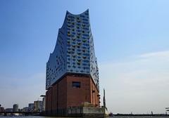 View from the boat - Elbe (jens-kristiansoendergaard) Tags: philharmonie water trip outside building music