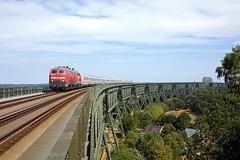 DB 218 470 + 218 315 + IC 2310 Frankfurt Main Hbf - Westerland (Sylt)  - Hochdonn (Rene_Potsdam) Tags: schleswigholstein railroad deutschebahn br218
