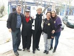 13/09/18 - Visita a Santa Vitória do Palmar: com a família Samn Martin e o deputado Adilson Troca.