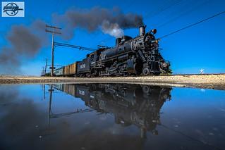 Eastbound IRM Passenger Train at Union, IL