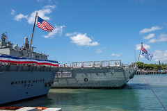 "U.S., Australian participate in the 100 Years of Mateship celebration at Joint Base Pearl Harbor-Hickam (#PACOM) Tags: ""usindopacificcommand usindopacom"" hmashobart hmas royalaustraliannavy ran australia pearlharbor jointbasepearlharborhickam jbphh hawaii unitedstates us"