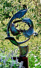 """CREST ""– TIDAL SERIES by Mark Pettegrow – bronze, steel (Adventure George) Tags: acdseephotostudio art botanicalgarden bronze coast coastalwoods flora garden land maine naturalworld nature newengland nikond750 northamerica northatlantic outdoor park photogeorge photoshoot publicart riparianecosystem rural sculpture sculpturearts statue summer tour travel unitedstates us usa vacation visualarts boothbay unitedstatesofamerica"