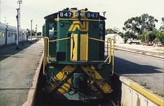 Peterborough (andrewsurgenor) Tags: locomotive engine transport train railway railroad rail railfan southaustralia australia an alco sa