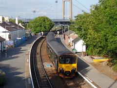 150001 Saltash (2) (Marky7890) Tags: gwr 150001 class150 sprinter 2c51 saltash railway cornwall cornishmainline train