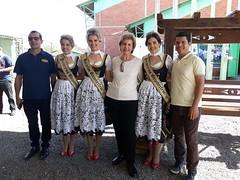 18/08/18 - Festa das Azaléias em Araricá. Encontro as soberanas da Ocktoberfest de Igrejinha.
