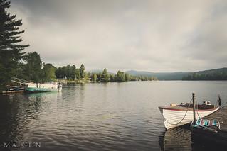 Blue Mountain Lake in Summer
