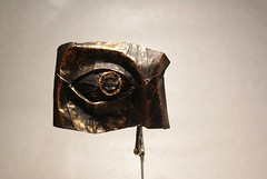 An eye. Design and folded by me (Artemiy Nikitin) Tags: eye original design paper kraft pain black gold origami