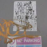 Do what you can with what you have (and no parking) thumbnail