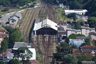 La gare de Cahors