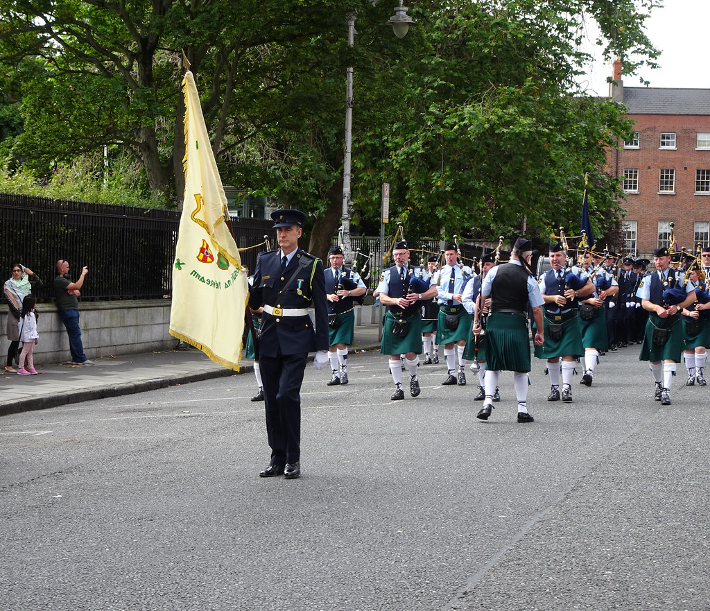 NATIONAL SERVICES DAY [PARADE STARTED OFF FROM NORTH PARNELL SQUARE]-143665