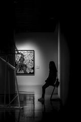 MGTI201803__143R-BYN_FLK (Valentin Andres) Tags: bw blackwhite blancoynegro byn center centropompidou españa guard malaga málaga pompidou spain white black blackandwhite centre centro guardia silhouette silueta vigilante