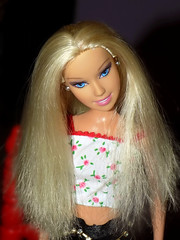Blond Mattel Barbie Doll (marieschubert1) Tags: barbie doll mattel fashion blond hair face clothing model beauty toy collection