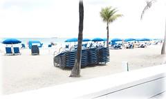 Beach Stacks 79 (LarryJay99 ) Tags: 2018 beach streets people ftlauderdale ocean atlanticocean stacks horizon seashore beachwall palms impression expression fades pastel pastels bokeh