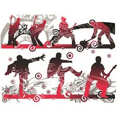 Free Vector Peoples Playing With Guitars Background (cgvector) Tags: 2017 3d abstract arts backdrop backgrounds banner bright brocher card creativity curve dark decorative design digitally elegant element frame graphic guitar illustrations image invitation light line modern motion music natural page paper part pattern peoples shape single space summer template texture vector wave white
