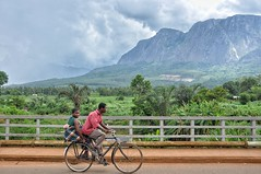 Bike taxi near Mulanje