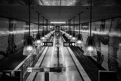 munich.... (Harry Pammer) Tags: munich münchen bahnhof ubahn underground germany deutschland bw bnw black white sw schwarz weiss schwarzweiss