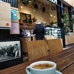 Long black coffee AUD4 - Canteen, South Melbourne Market thumbnail