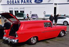 1956 Chevrolet sedan delivery (D70) Tags: oceanparkford hotrodshow 2018 surrey britishcolumbia canada 1956 chevrolet sedan delivery nikon d750 28300mm f3556 ƒ90 400mm 1320 100