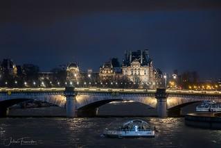 Pont de la Concorde & Le Louvre, Paris