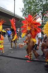 DSC_8305 (photographer695) Tags: notting hill caribbean carnival london exotic colourful costume girls dancing showgirl performers aug 27 2018 stunning ladies