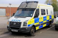Cumbria Police Volkswagen Crafter Public Order Van (PFB-999) Tags: cumbria police volkswagen crafter public order van vehicle unit pov psu support lightbar grilles fendoffs rotators beacons leds px09cvo