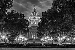 Capitol at Night (jmhutnik) Tags: westvirginiastatecapitolbuilding westvirginia charleston night dome architecture bell columns august summer evening