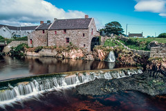 The Corn Mill (Matts__Pics) Tags: annalong codown mill water granite mournemountains