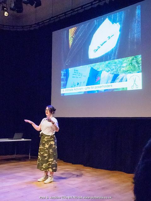 P7260128 Sarah Corbett at Winchester Skeptics