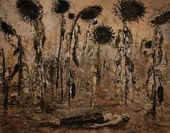 Die Orden der Nacht 1996 by Anselm Kiefer (1945-) (slider5) Tags: painting anselmkiefer seattle wa