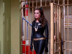 """Julie Newmar as Catwoman in """"Catwoman Goes to College"""" 29 (gameraboy) Tags: catwoman batman comics julienewmar cheesecake sexy woman"""