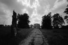 End of the road (Nickademus42 (Thank you for 1 million views)) Tags: scott county kentucky house haunted abandoned empty kodak 5222 xx 15mm voightlander bessa l