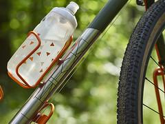 _1100312_1 (pilisiecki) Tags: gravel doitall silk road race stainless rack lowrider wtb paulcomponents white industries graam green orange custom thomson