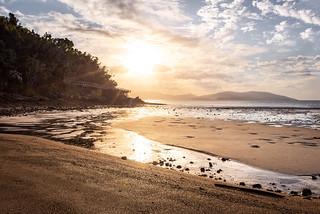 Long Island - low tide