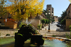 DSC_1714 (jesuspnavarro) Tags: sigüenza castilla españa catedral calle fuente otoño surtidor arte pueblo guadalajara