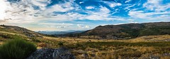 Natural Park Alvão in the end of day! (luisfcpires) Tags: mountain range hill valley landscape peak scenery rolling scenic rural scene ridge hillside blue sky clouds cloudscape spring