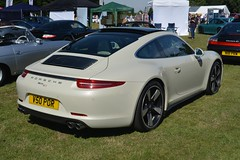 Porsche 911 50th Anniversary Edition (CA Photography2012) Tags: v50por porsche 911 50th anniversary edition 50 jahre special limited 991 series generation legend carrera s 4s 4 coupe sportscar sports car ca photography automotive exotic spotting owners club lotherton hall 2018