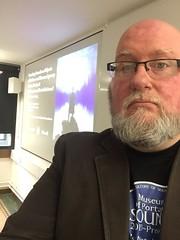 Guest Lecture, UCL Institute of Archaeology Museum Studies Seminar, 31 October 2017 (MuseumOfPortableSound) Tags: lecture talk ucl instituteofarchaeology museumstudies seminar universitycollegelondon london uk director