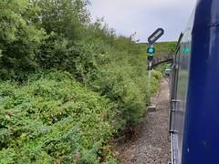 First Great Western 43079 (with 43182) 1B01 0723 Swansea - Pembroke Dock.  Carmarthen.  11th August 2018 (Ajax46.) Tags: firstgreatwestern 43079 43182trailing carmarthen 11thaugust2018 1b010723swanseatopembrokedock