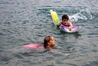 2018-08-06 Matthew & Sophie, Lake Garda, Gargnano 1