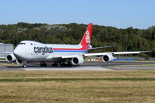 LX-VCG | Boeing 747-8R7F | Cargolux