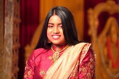 Portrait (Rajavelu1) Tags: portrait girl colours hindutemple portraitphotography stage handheld dslr india art creative model thisphotorocks artdigital wedding